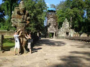Angkor Thom Tempelanlage