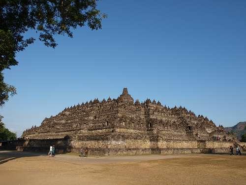 Borobudur Tempelanlage bei Yogyakarta