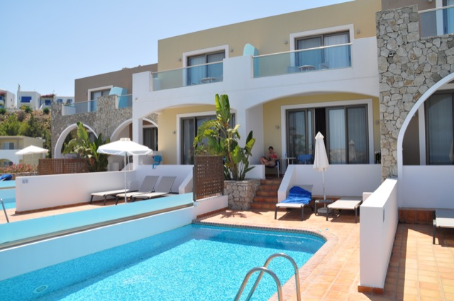 Unser Hotel mit privatem Swimming-Pool auf Rhodos