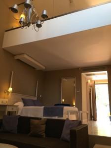 2 Etagen in der Maisonette-Suite im Hotel Porto Angeli in der Stegna Bay auf Rhodos