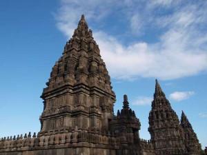 Prambanan Tempelanlage nahe Yogyakarta in Indonesien