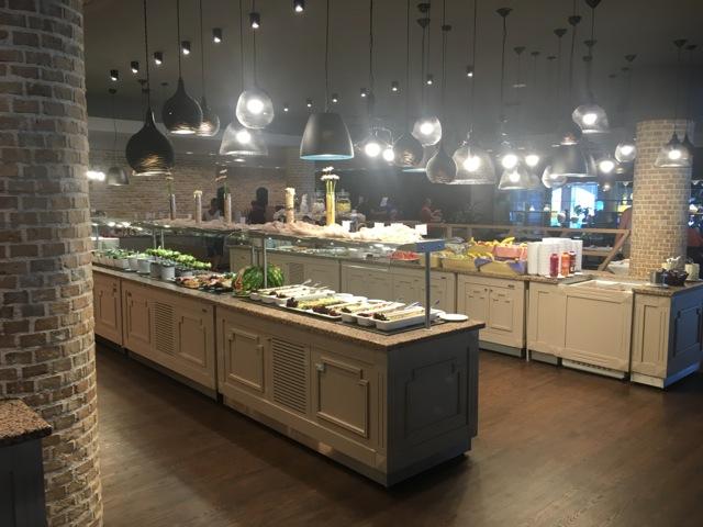 Restaurant im Hotel Porto Angeli Stegna-Bay Rhodos