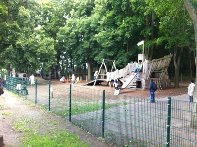 Abenteuerspielplatz - Spielplatz am Restaurant und Biergarten Rübezahl