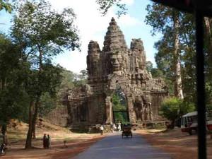 Suedtor von Angkor Thom in Angkor