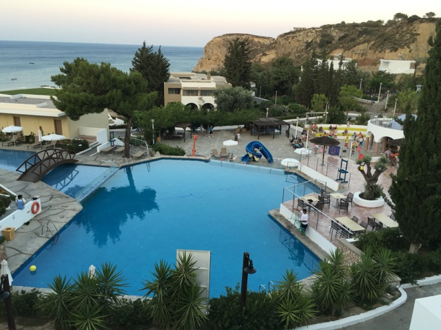 Swimming-Pool im Hotel Porto Angeli - Stegna-Bay Rhodos