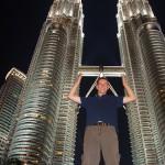 Kuala Lumpur – Hotel, Einkaufen, China Town und Twin Towers