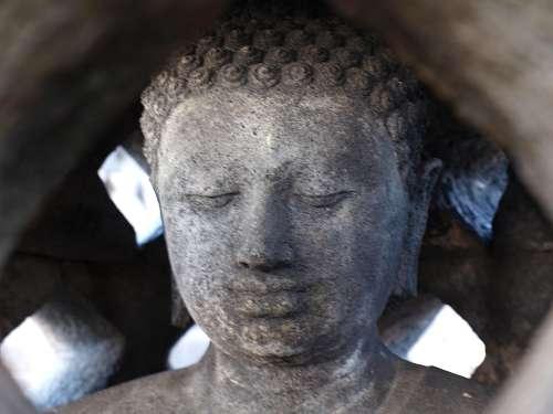 Tempel um Yogyakarta auf Java in Indonesie