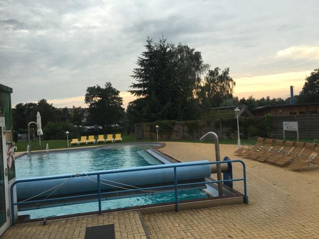 Außenbecken im Spassbad Schwapp Fürstenwalde