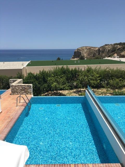 Aussicht und Meerblick Hotel Porto Angeli