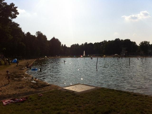 Baden im See vom Trixi Ferienpark