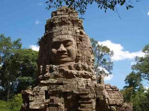 Bayon in Angkor Wat