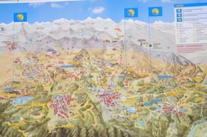 Berge für Kinder- Serfaus, Fiss, Ladis im Sommer (Karte)