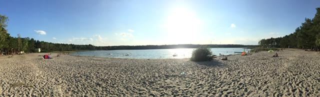 Briesensee Camping mit Strand