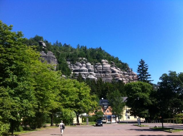 Burg und Kloster Oybin - Berge & Felsen
