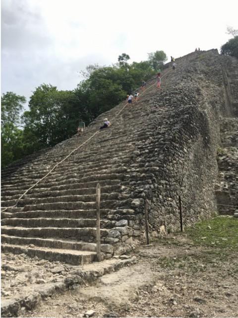 Große Pyramide - Coba Ruine