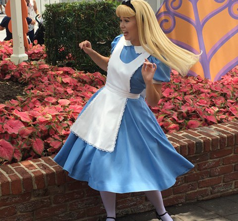 Alice im Wunderland in Disney World