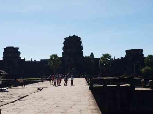 Eingangstor Angkor Wat