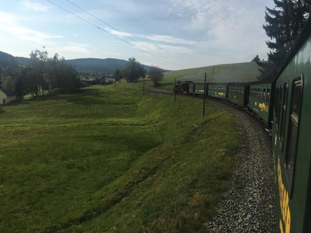 Eisenbahn zwischen Oberwiesenthal und Cranzahl