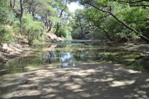 Kleiner See bei Epta Piges auf Rhodos