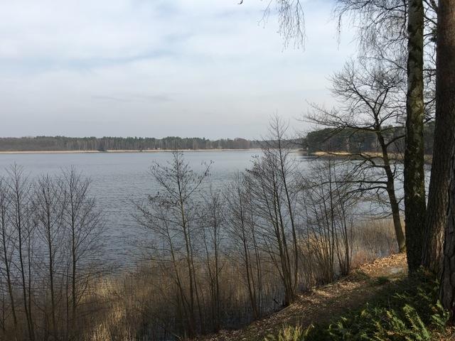 Aussicht auf den Glubigsee - Ferienpark am Glubigsee