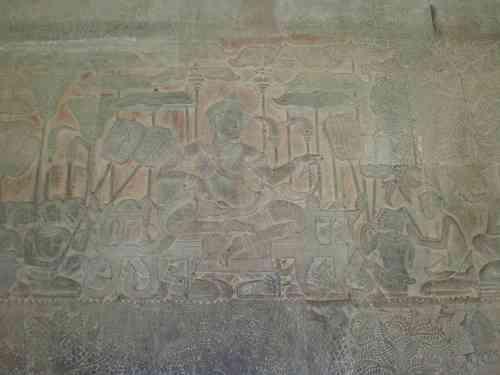 Flachrelief Angkor Wat