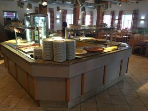 Kaffee und Kuchen gibts auf der Frankenfarm