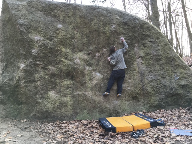 Freeclimbing an den Markgrafensteinen