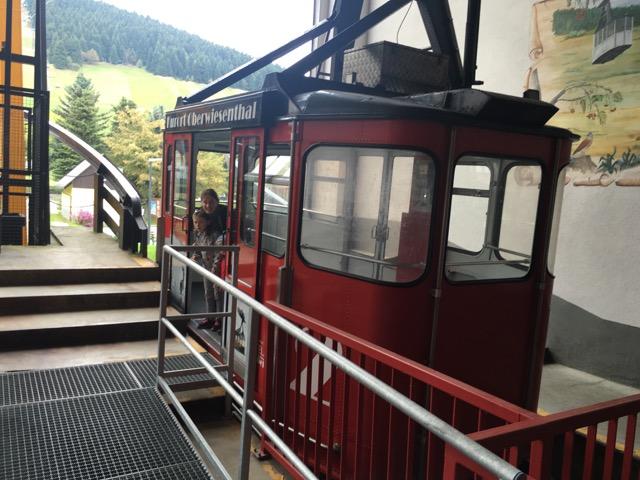 Mit der Gondel auf den Fichtelberg in Oberwiesenthal