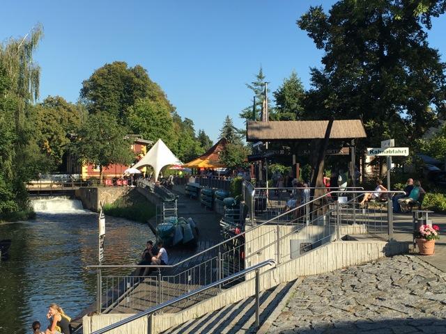 Kahnfahrten ab Spreewald-Hafen Burg