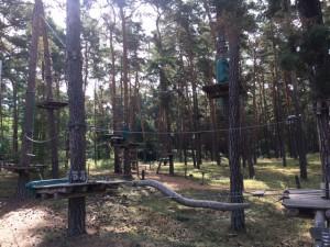 Kletterwald: Klettergarten in Lübben