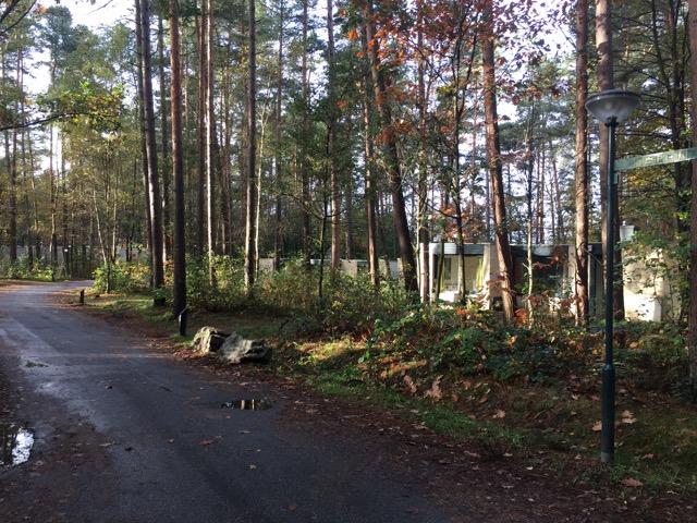 Lage der Ferienhäuser im Center-Park Bispinger Heide