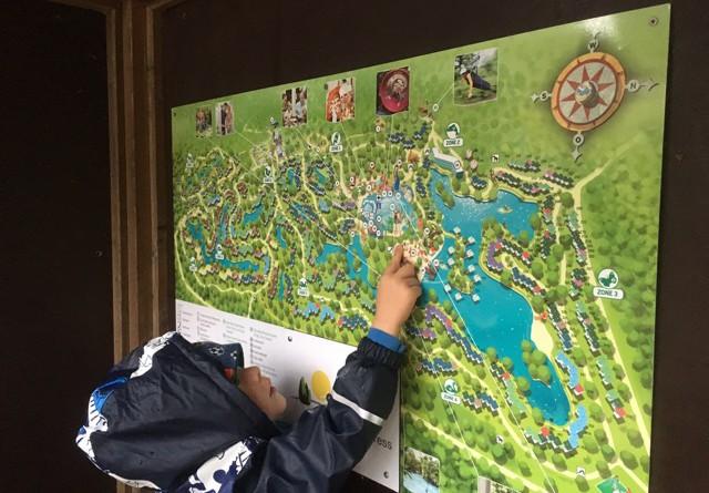 Lageplan: Übersicht Park Centerparc Bispinger Heide