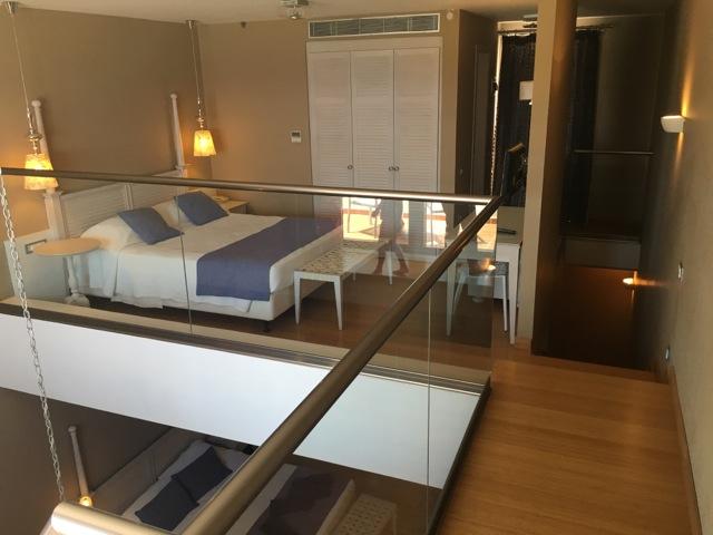 Maisonette-Suite im Hotel Porto Angeli in der Stegna Bay auf Rhodos