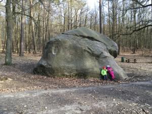 Markgrafensteine - grösster Findling in Brandenburg