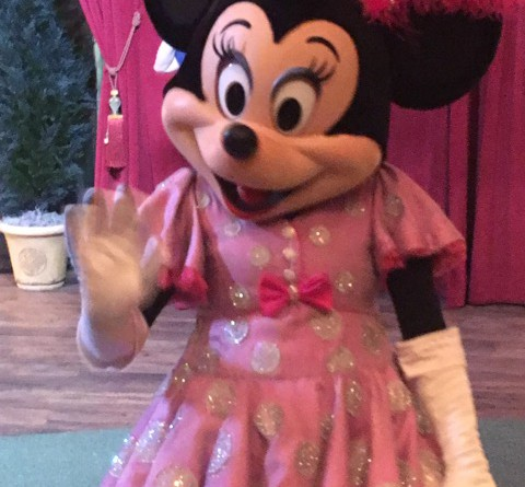 Minnie Maus im Disney World Orlando