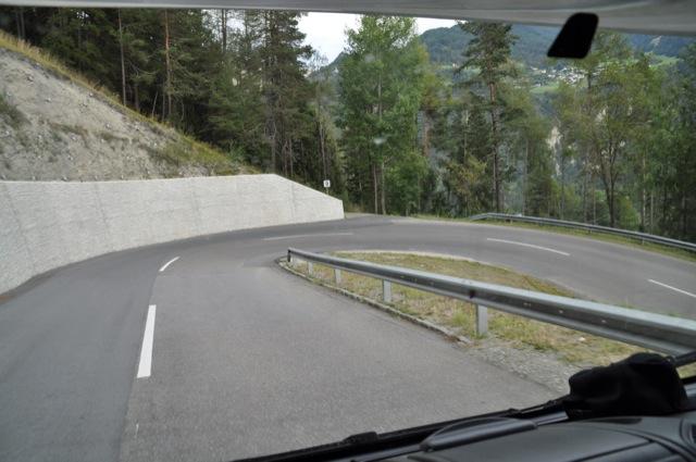 Kurven und Serpentinen - Mit dem Wohnmobil in die Berge