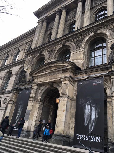 Eingang des Naturkundemuseum Berlin