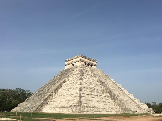 Große Pyramide von Chichen Itza
