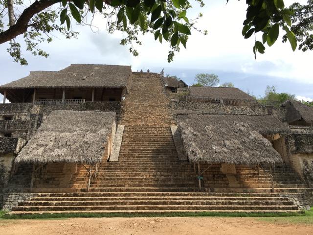 Pyramide der Tempelanlage Ek Balam