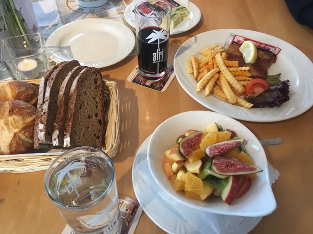 Frankenfarm - Essen im Rasthof an der A9