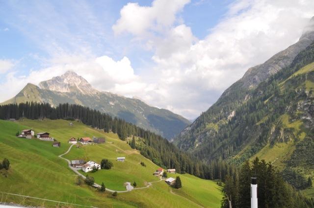 Reiseroute in den Alpen - Mit Wohnmobil und kleine Kindern