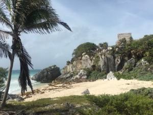 Tulum Tempelanlage direkt am Meer