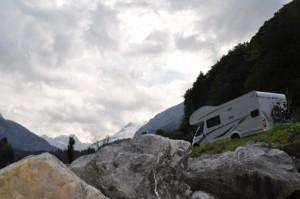 Zwischenstop auf der Alpen-Rundreise mit Kindern und Wohnmobil