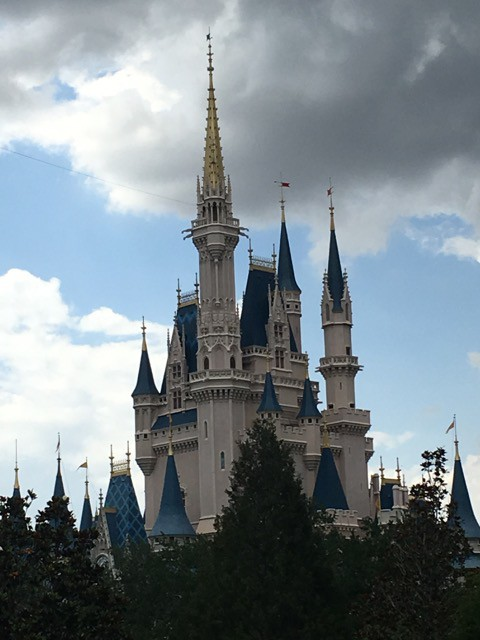 Schloss  Magic Kingdom Disney-World