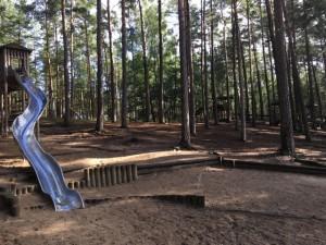 Spielplatz im Wildpark Schorfheide
