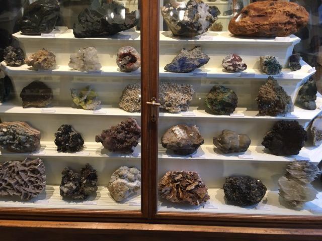 Steine und Mineralien im Naturkundemuseum Berlin