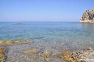 strand-rhodos-sand-stein-felsen