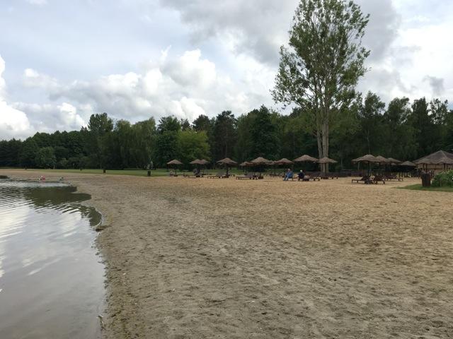 Strand des Lübbesee vom Ahorn Hotel Templin