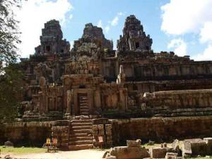 Ta Keo Tempel - Der Tempelberg in Angkor Wat
