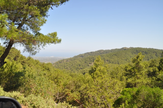 Wandern auf Rhodos? Im Sommer mit Kinder nicht zu empfehlen